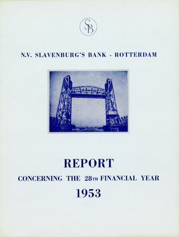 Slavenburg's Bank 1953