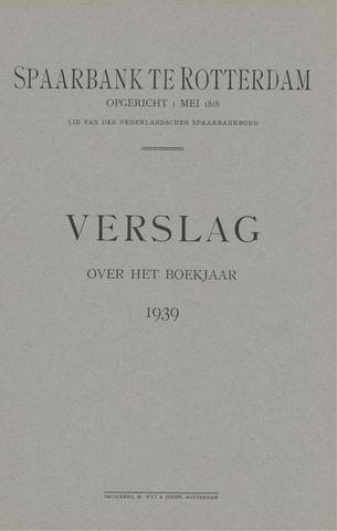Spaarbank te Rotterdam 1939