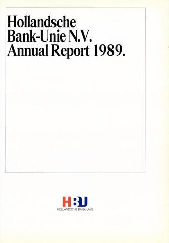 Hollandsche Bank-Unie 1989