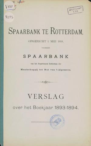 Spaarbank te Rotterdam 1893