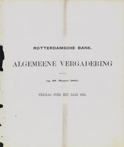 Rotterdamsche Bank 1865