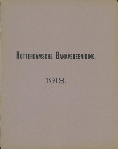 Rotterdamsche Bank 1918