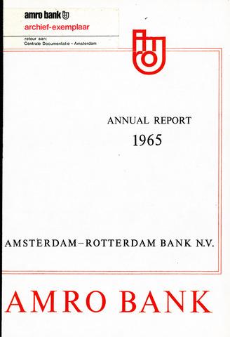 Amro Bank 1965