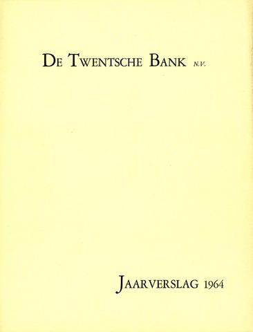 Twentsche Bank 1964