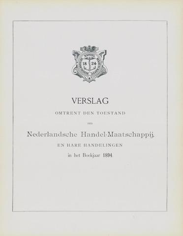 Nederlandsche Handel-Maatschappij 1894