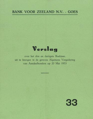 Bank voor Zeeland 1952