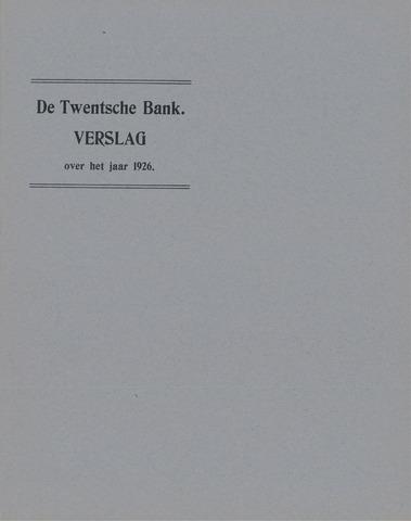 Twentsche Bank 1926