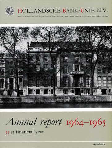 Hollandsche Bank-Unie 1964