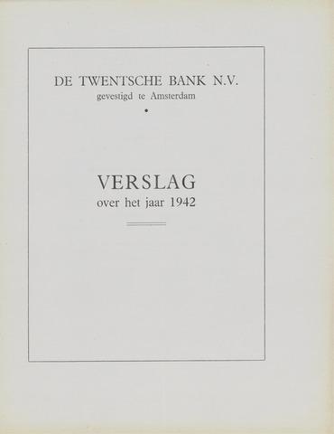 Twentsche Bank 1942