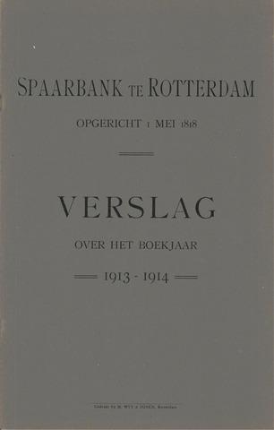 Spaarbank te Rotterdam 1913