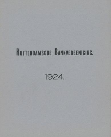 Rotterdamsche Bank 1924