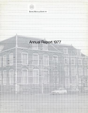Bank Mees & Hope 1977