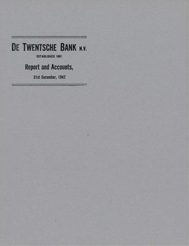 Twentsche Bank 1947