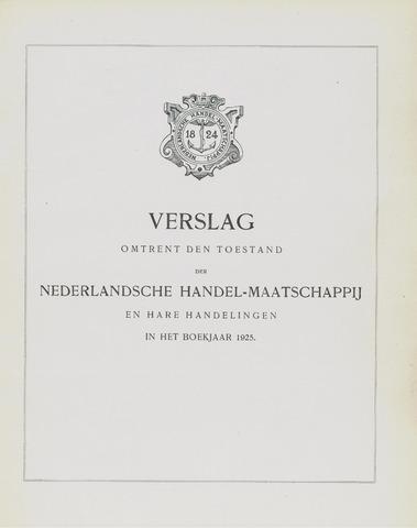 Nederlandsche Handel-Maatschappij 1925