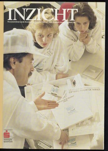 Verenigde Spaarbank - InZicht 1989