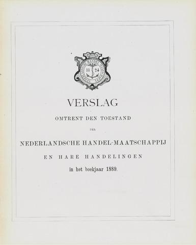 Nederlandsche Handel-Maatschappij 1889