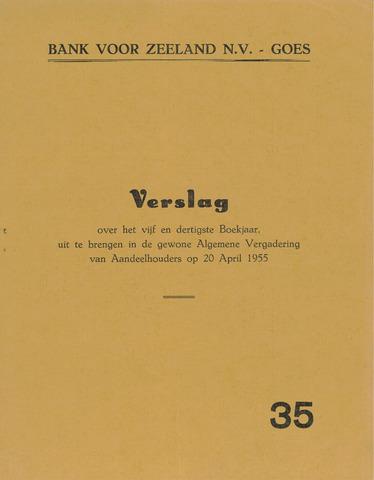 Bank voor Zeeland 1954
