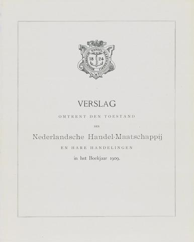 Nederlandsche Handel-Maatschappij 1909