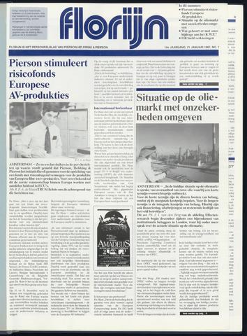 Pierson, Heldring & Pierson - Florijn 1987