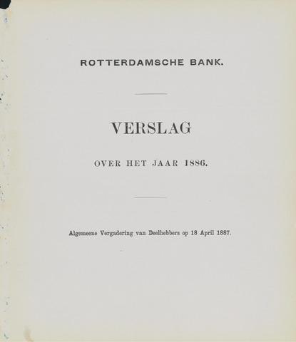Rotterdamsche Bank 1886