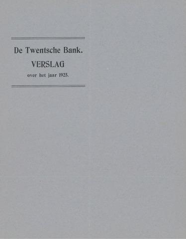 Twentsche Bank 1925