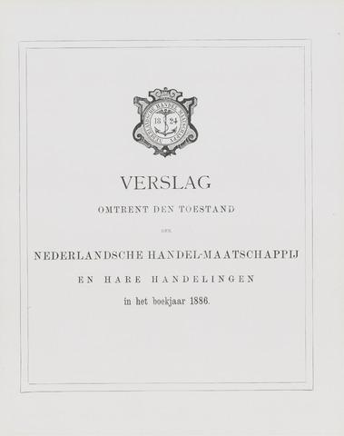 Nederlandsche Handel-Maatschappij 1886