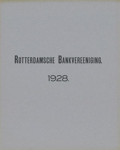 Rotterdamsche Bank 1928