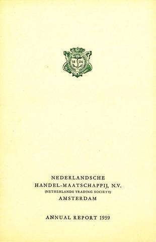 Nederlandsche Handel-Maatschappij 1959