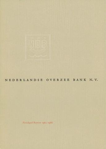 Nederlandse Overzee Bank 1965