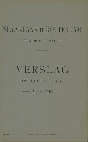 Spaarbank te Rotterdam 1909