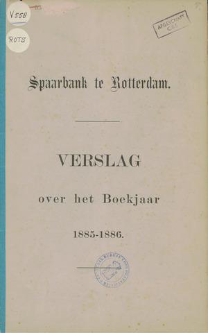 Spaarbank te Rotterdam 1885