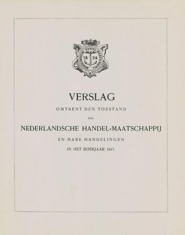 Nederlandsche Handel-Maatschappij 1917