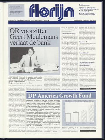 Pierson, Heldring & Pierson - Florijn 1986