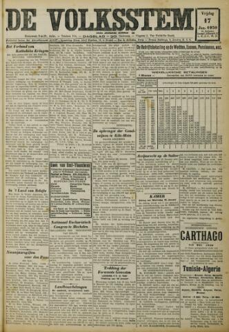 De Volksstem 1930-01-17