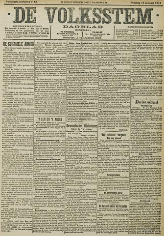 De Volksstem 1914-01-16