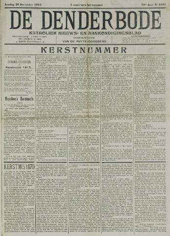 De Denderbode 1915-12-26