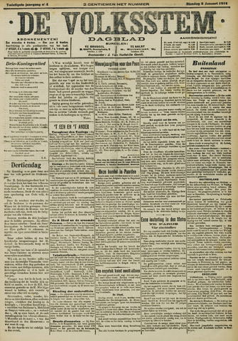 De Volksstem 1914-01-06
