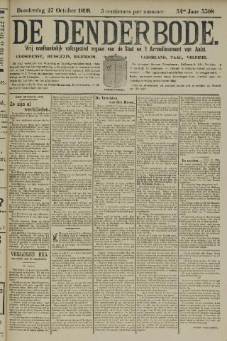 De Denderbode 1898-10-27