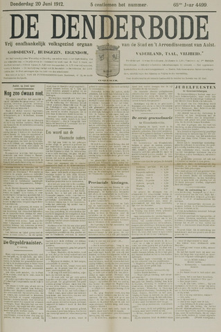 De Denderbode 1912-06-20