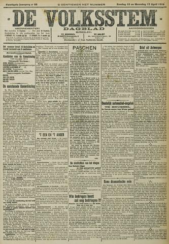 De Volksstem 1914-04-12