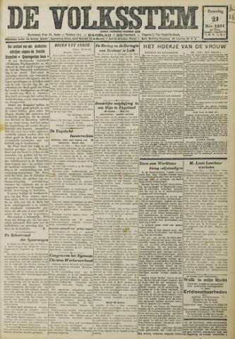 De Volksstem 1931-11-22