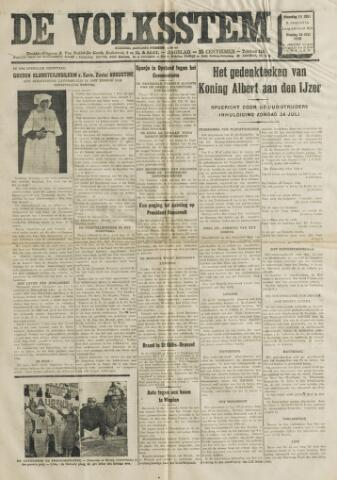 De Volksstem 1938-07-11
