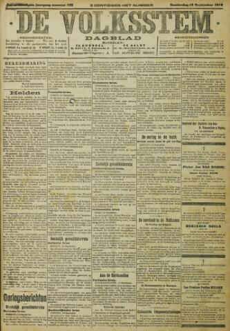 De Volksstem 1915-09-16