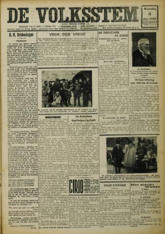 De Volksstem 1932-01-06