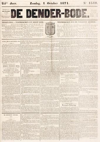 De Denderbode 1871-10-01