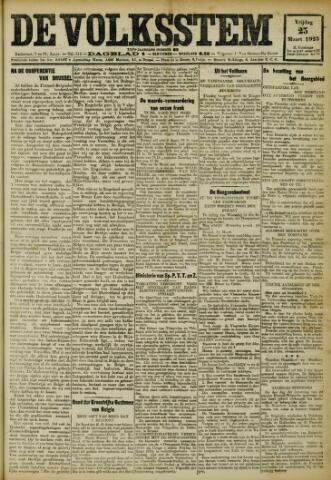 De Volksstem 1923-03-23