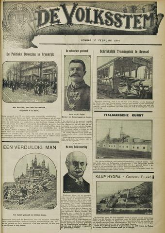 De Volksstem 1914-02-22