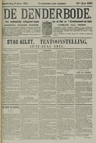 De Denderbode 1911-06-08