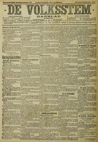 De Volksstem 1915-09-21