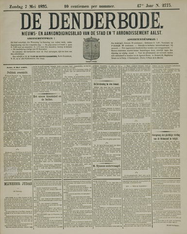 De Denderbode 1893-05-07